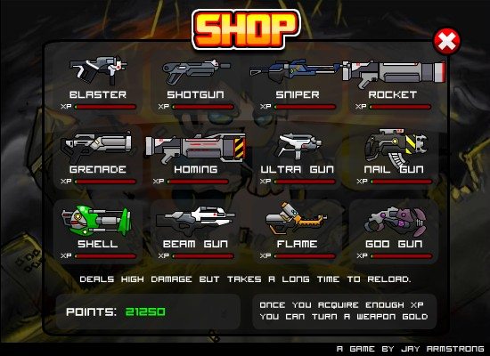 Raze 4 weapons